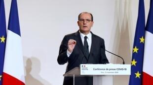 Le Premier ministre Jean Castex a fait le point sur l'épidémie de Covid-19 jeudi 12 novembre.