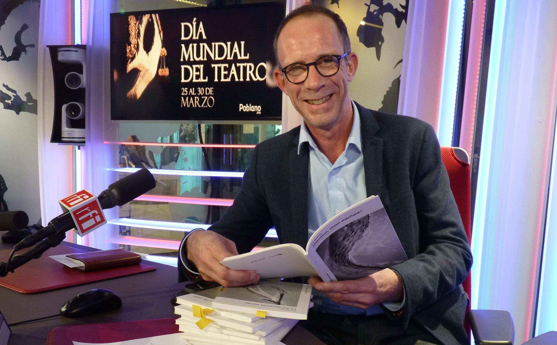 David Ferré en los estudios de RFI