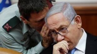 Le Premier ministre israélien Benyamin Netanyahu, le 2 juin 2019 à Jérusalem.