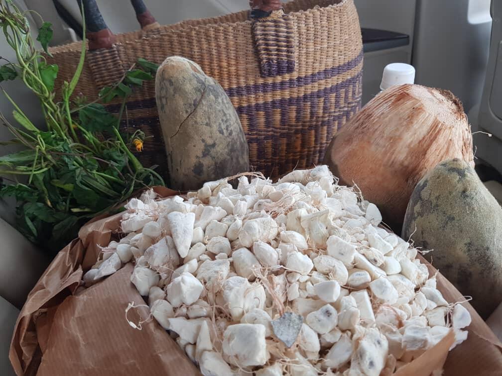 Au Bénin, la pulpe de coco est reconnue par ses vertus pour la santé, car elle contient du fer, du potassium, et des fibres alimentaires. Image d'illustration.