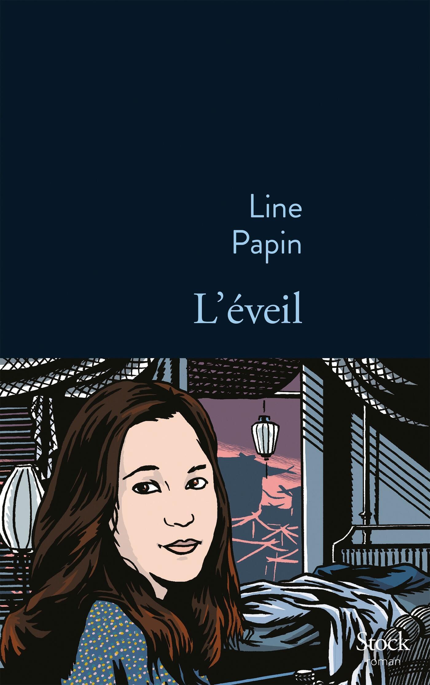 Bìa cuốn sách L'éveil (Thức tỉnh) của nhà văn Pháp Line Papin.