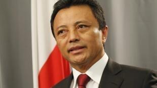 L'ancien président malgache Marc Ravalomanana, le 17 février 2011.