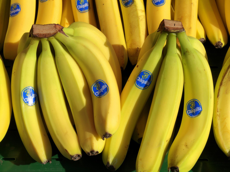 Un régime de bananes.