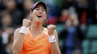A tenista espanhola Garbine Muguruza vai disputar a sua primeira final do Grand Slam