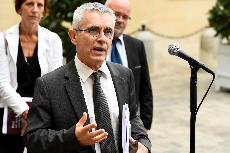 Le secrétaire général de Force ouvrière (FO), Yves Veyrier.