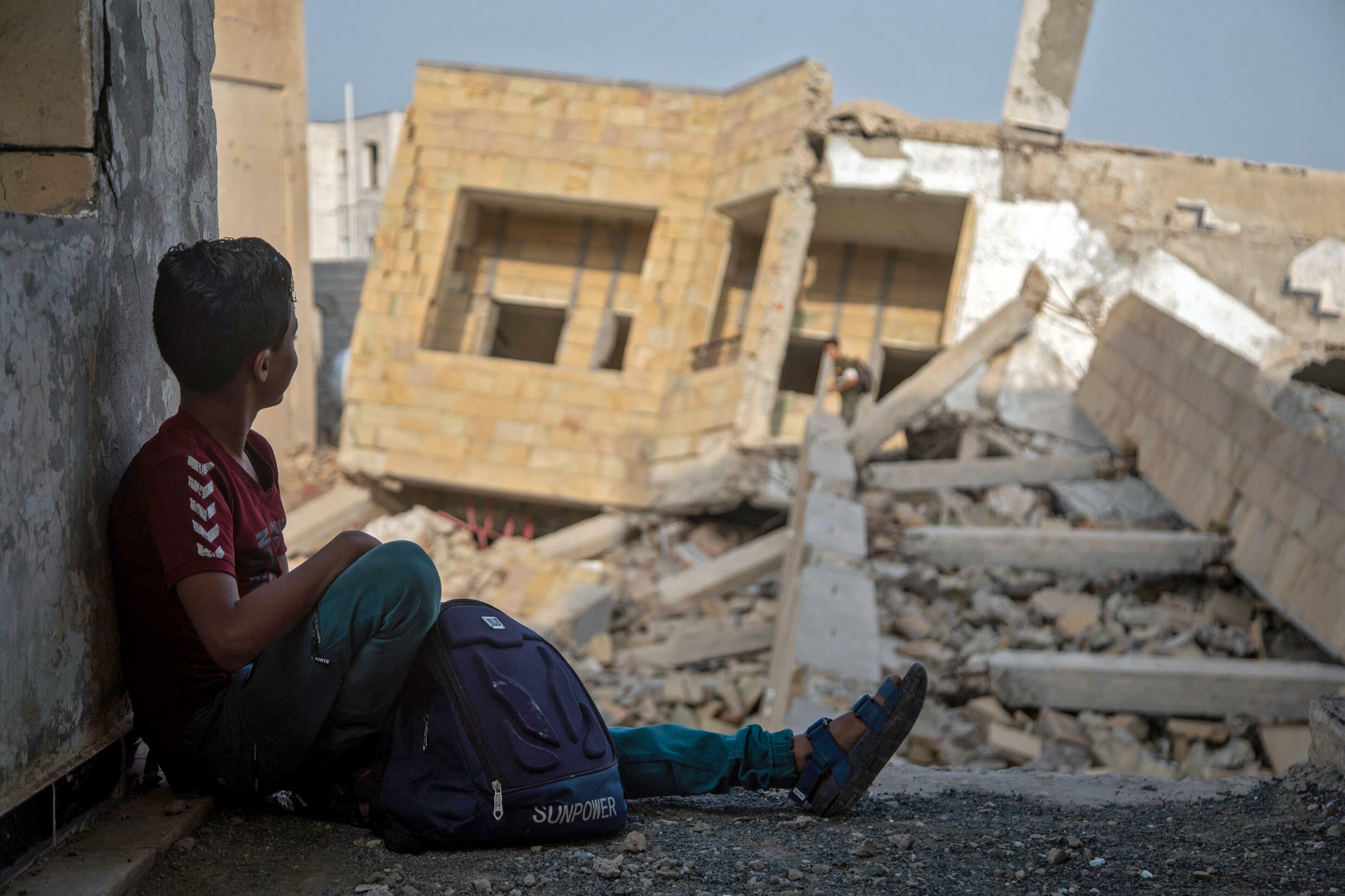 Schools have been destroyed or turned into refugee camps or military bases in much of Yemen