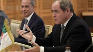 Le ministre des affaires étrangères algérien Sabri Boukadoum, le 13 juillet 2020.