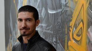 Le rappeur algérien Diaz.