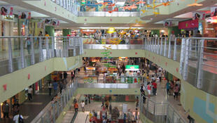 The Philippines has a large retail industry with many large shopping centres, like this SM City mall in Cebu.