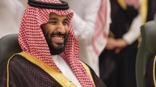 Thái tử kế vị Mohamed ben Salman, tại Jeddah, ngày 6/6/2018.
