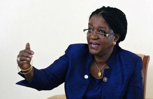 Mjumbe Maalum wa Umoja wa Mataifa UN Anayeshughulikia vitendo vya ubakaji na udhalilishaji wa kijinsia Zainab Hawa Bangura