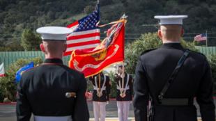 美国海军陆战队队员资料图片