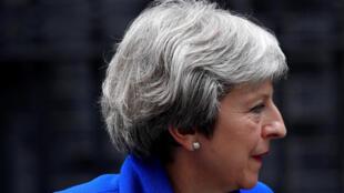 Thủ tướng Anh Theresa May tại Downing Street, ngày 20/06/2018.