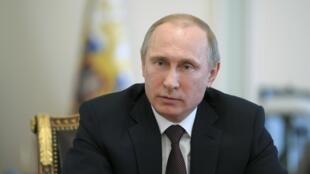 Rais wa Urusi, Vladimir Putine, akipongeza azimio la Umoja wa mataifa.