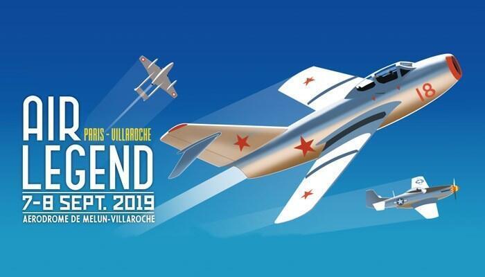 В сентябрьском авиашоу Air Legend -2019 близ Парижа примут участие коллекционный МиГ-15 и самолеты Яковлева.
