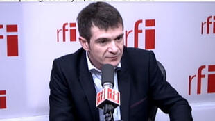 Benoist Apparu, secrétaire d'Etat en charge du Logement dans le gouvernement de François Fillon, conseiller politique de l'UMP.