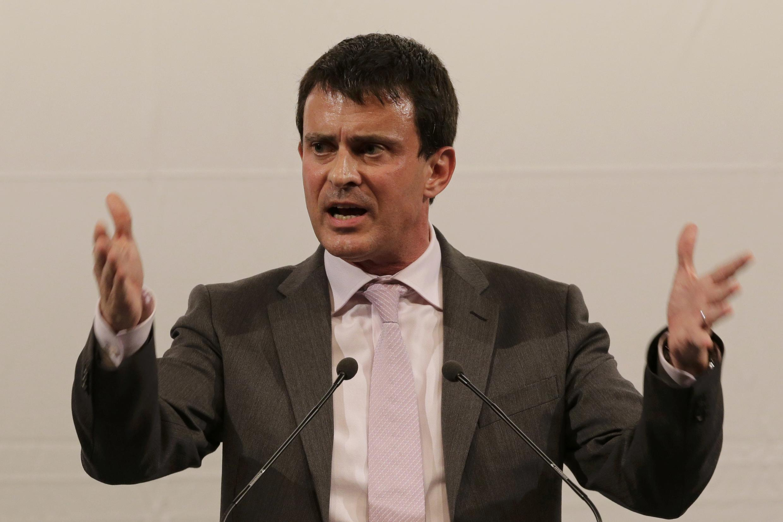 El ministro del Interior francés Manuel Valls, el pasado 17 de octubre de 2012.