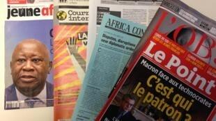 Capas dos semanários de 26/01/2019