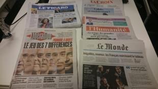Diários franceses 12.10.2016