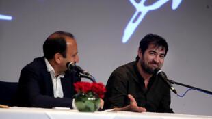 """نشست خبری فیلم """"فروشنده"""" با حضور کارگردان اصغر فرهادی و بازیگران شهاب حسینی و ترانه علیدوستی برگزار شد."""