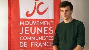 Léon Deffontaines, head of the French Young Communists Movement.