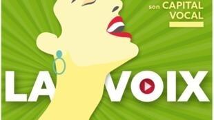 Afiche de la jornada consagrada a la voz, organizada por la MGEN, que agrupa a todos los maestros de la educación nacional de Francia.