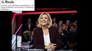 As candidaturas às eleições europeias estão em destaque na imprensa francesa