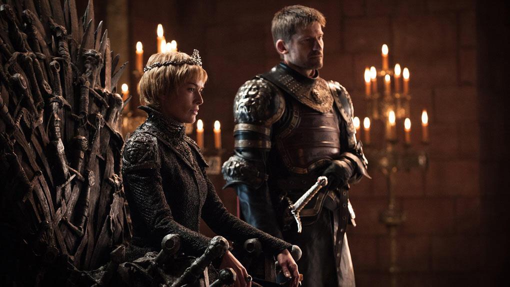 La reine Cersei et son frère Jaime Lannister, dans la saison 7 de «Game of Thrones».