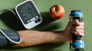 illustration hypertension sport