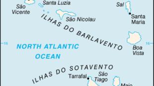 Mapa do arquipélago cabo-verdiano