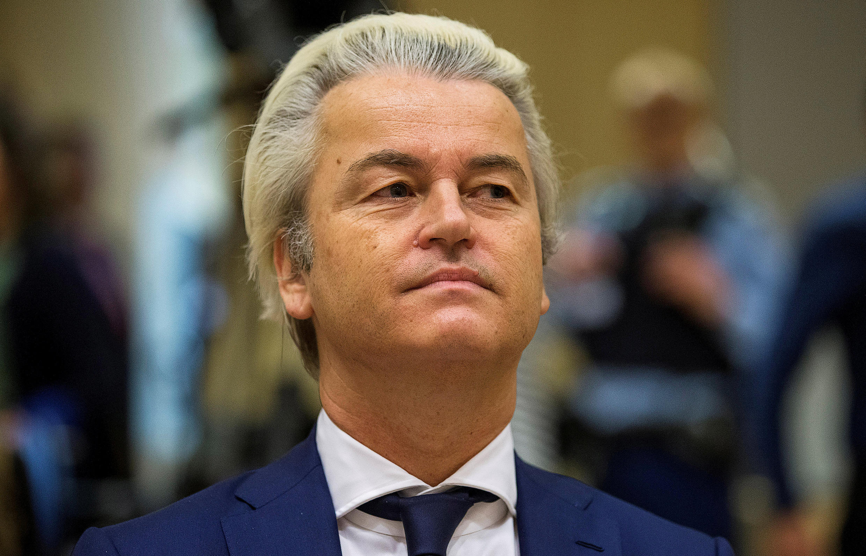 Geert Wilders, le 18 mars 2016 à Schiphol.