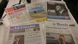 Diários franceses 01.02.2017