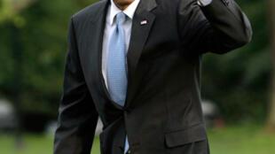 Le président américain Barack Obama  à la Maison Blanche à Washington, le 26 mai 2010.