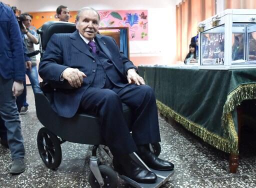 Abdelaziz Bouteflika wakati akiwa rais