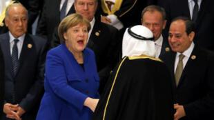 رهبران اتحادیۀ اروپا و اتحادیۀ عرب، بر ضرورت حل منازعات خونین خاورمیانه تأکید کردند.