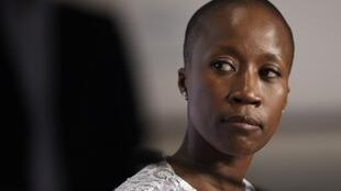 La chanteuse malienne Rokia Traoré prise en photo en mai 2015, lors du Festival de Cannes.