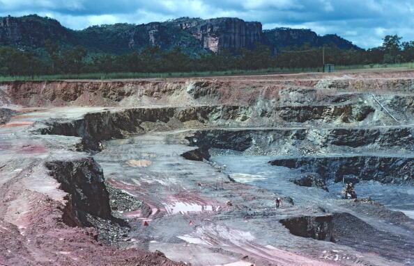 Les groupes miniers ont profité du réveil des prix de l'uranium. Ici, la mine d'uranium Ranger située dans le parc national de Kakadu, dans le nord de l'Australie.