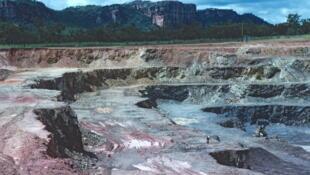 La mine d'uranium Ranger située dans le parc national de Kakadu, dans le Territoire du Nord en Australie.