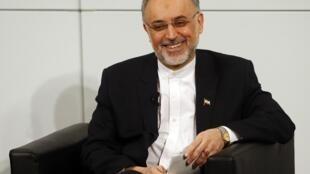 Ali Akbar Salehi, ministro iraniano das Relações Exteriores, participou de conferência na Alemanha.
