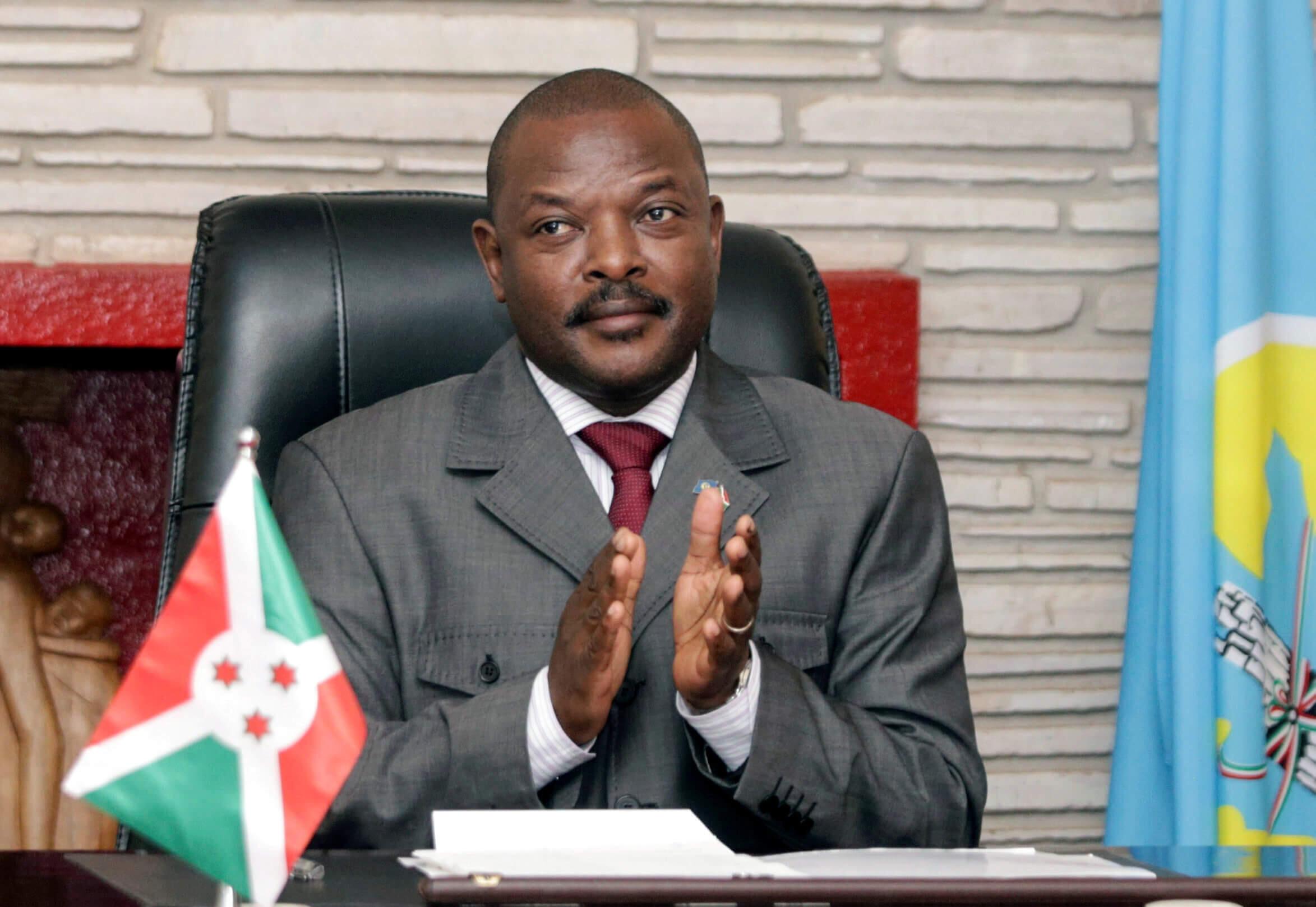 Tsohon shugaban Burundi Pierre Nkurunziza.