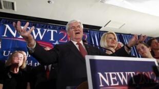 Mais conservador que o favorito Mitt Romney, Newt Gingrich acabou vencedor da disputa na Carolina do Sul.