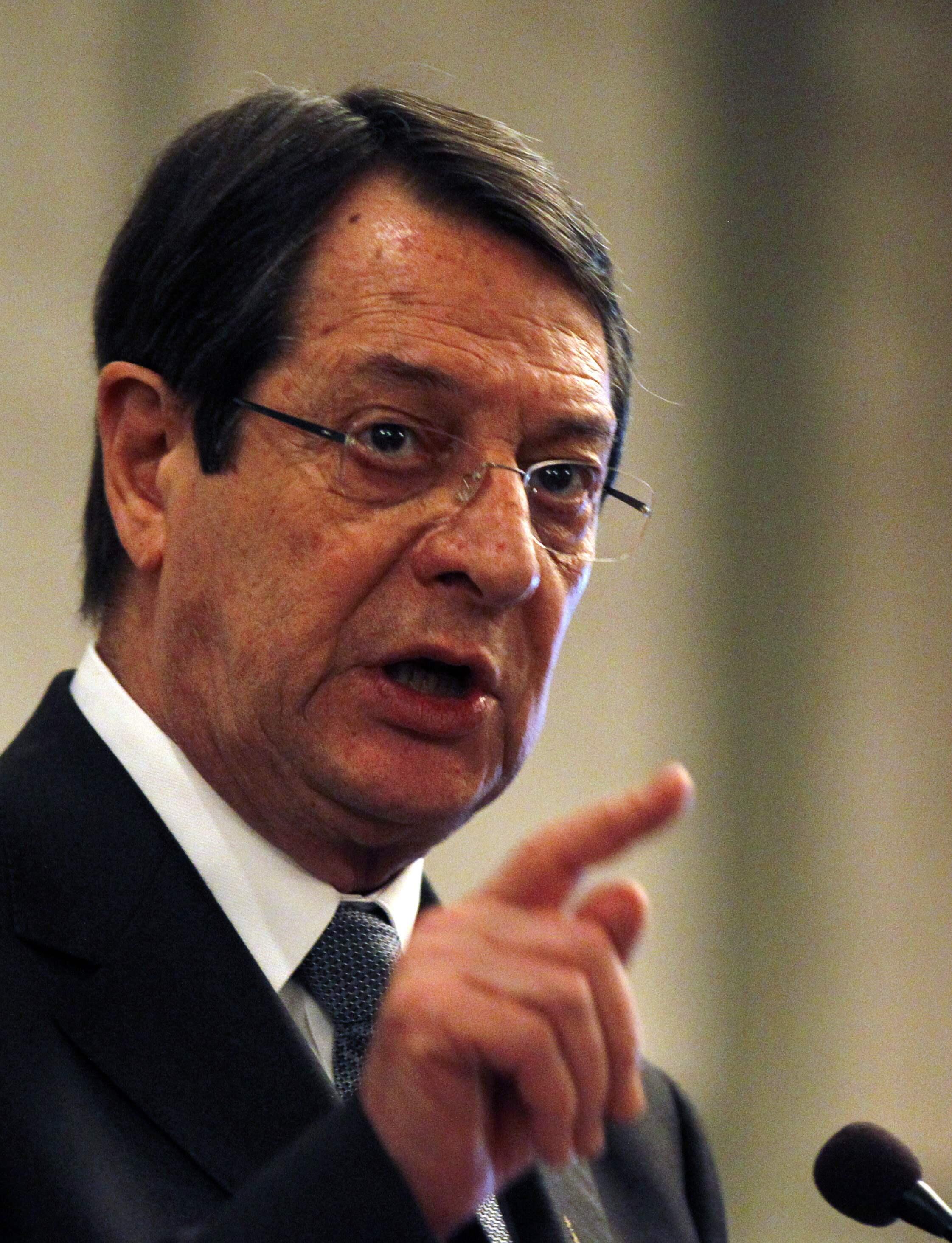 Nicos Anastasiades, président de Chypre a lui-même annoncé cette proposition aux investisseurs étrangers.
