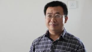 中國維權律師江天勇(資料圖片)