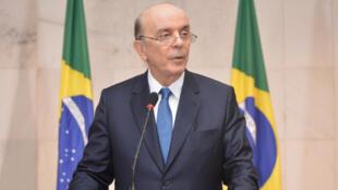 O novo chanceler brasileiro, José Serra.
