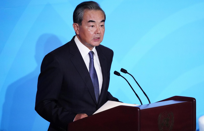 中國外長王毅。