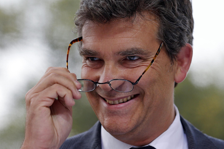 Vинистр экономики Франции Арно Монтебур