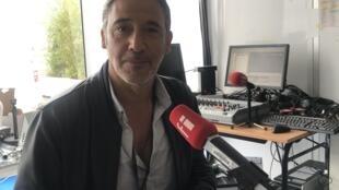 Diogo Infante, realizador português da curta metragem Olga Drummond, em Cannes a 24 de Maio de 2019.