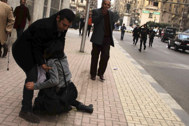 Shaima al-Sabbagh, tuée samedi 24 janvier dans les rues du Caire.
