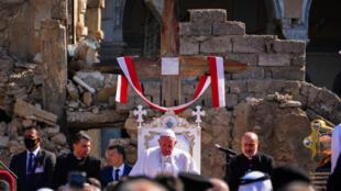 Irak Pape François Mossoul