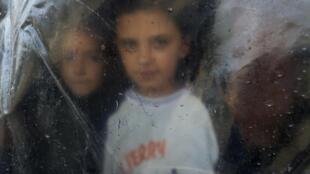 Сирийские дети-беженцы в Ливане